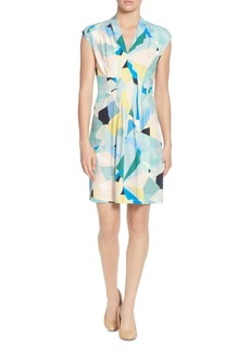CATHERINE Catherine Malandrino Tinka Pleated Printed Dress