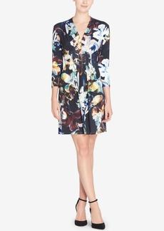 Catherine Catherine Malandrino Tinka Pleated-Waist Dress
