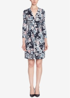 Catherine Catherine Malandrino Tinka Printed Matte Jersey Fit & Flare Dress