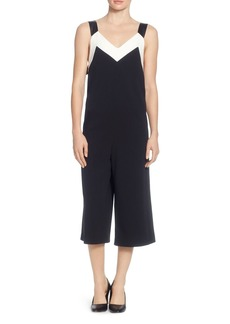 CATHERINE Catherine Malandrino Tre Color-Block Cropped Jumpsuit