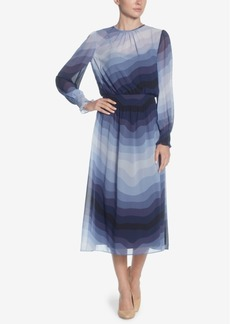 Catherine Catherine Malandrino Trudy Printed Midi Dress