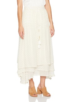 CATHERINE CATHERINE MALANDRINO Women's Berbas Skirt Off  S