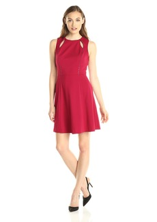 CATHERINE CATHERINE MALANDRINO Women's Bird Dress Crimson