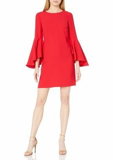CATHERINE CATHERINE MALANDRINO Women's Claudette Dress Lipstick red Extra Large