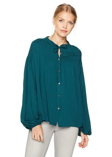 CATHERINE CATHERINE MALANDRINO Women's Julie Top deep Teal XL