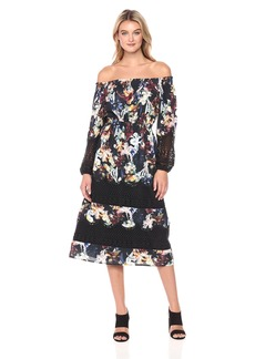 CATHERINE CATHERINE MALANDRINO Women's Olive Dress  L