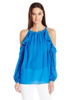 Catherine Catherine Malandrino Women's Wynn Blouse-Solid  XL