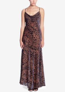 Catherine Malandrino Bias-Cut Maxi Slip Dress