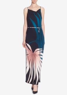 Catherine Malandrino Billie Printed Tie-Waist Dress