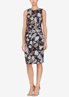 Catherine Malandrino Caron Ruched Sheath Dress