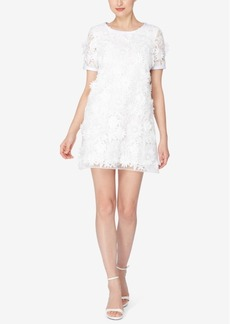 Catherine Malandrino Drucie Floral-Lace Shift Dress
