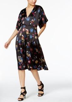 Catherine Malandrino Georgina Floral-Print A-Line Dress