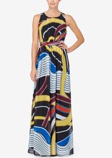 Catherine Malandrino Laguna Printed Maxi Dress