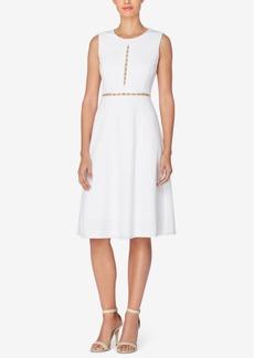 Catherine Malandrino Leonor Embellished Fit & Flare Dress