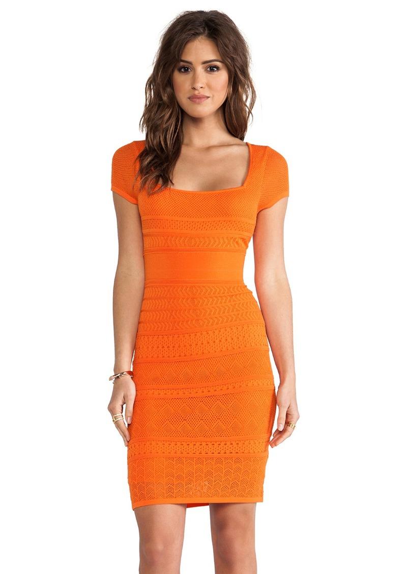 Catherine Malandrino Pointelle Shift Dress