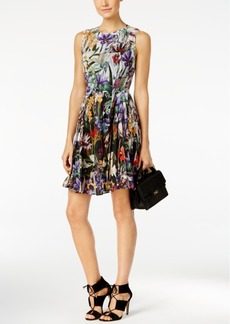 Catherine Malandrino Printed Chiffon Dress
