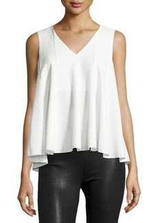 Catherine Malandrino Sleeveless Swing Blouse