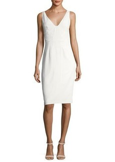 Catherine Malandrino Tyrell Silk Sheath Dress