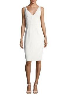 Catherine Malandrino Tyrell Silk Sheath Dress