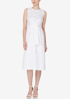 Catherine Malandrino Ursula Knotted Midi Dress