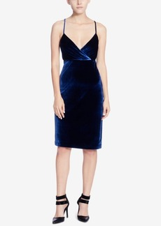 Catherine Malandrino Velvet Empire Sheath Dress
