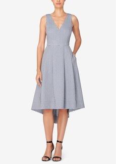 Catherine Malandrino Xavi Asymmetrical Fit & Flare Dress