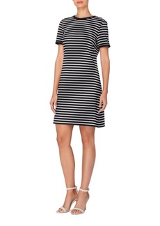 City Stripe Clem Striped A-Line Dress