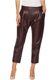 Catherine Malandrino Cropped Pleated Pants