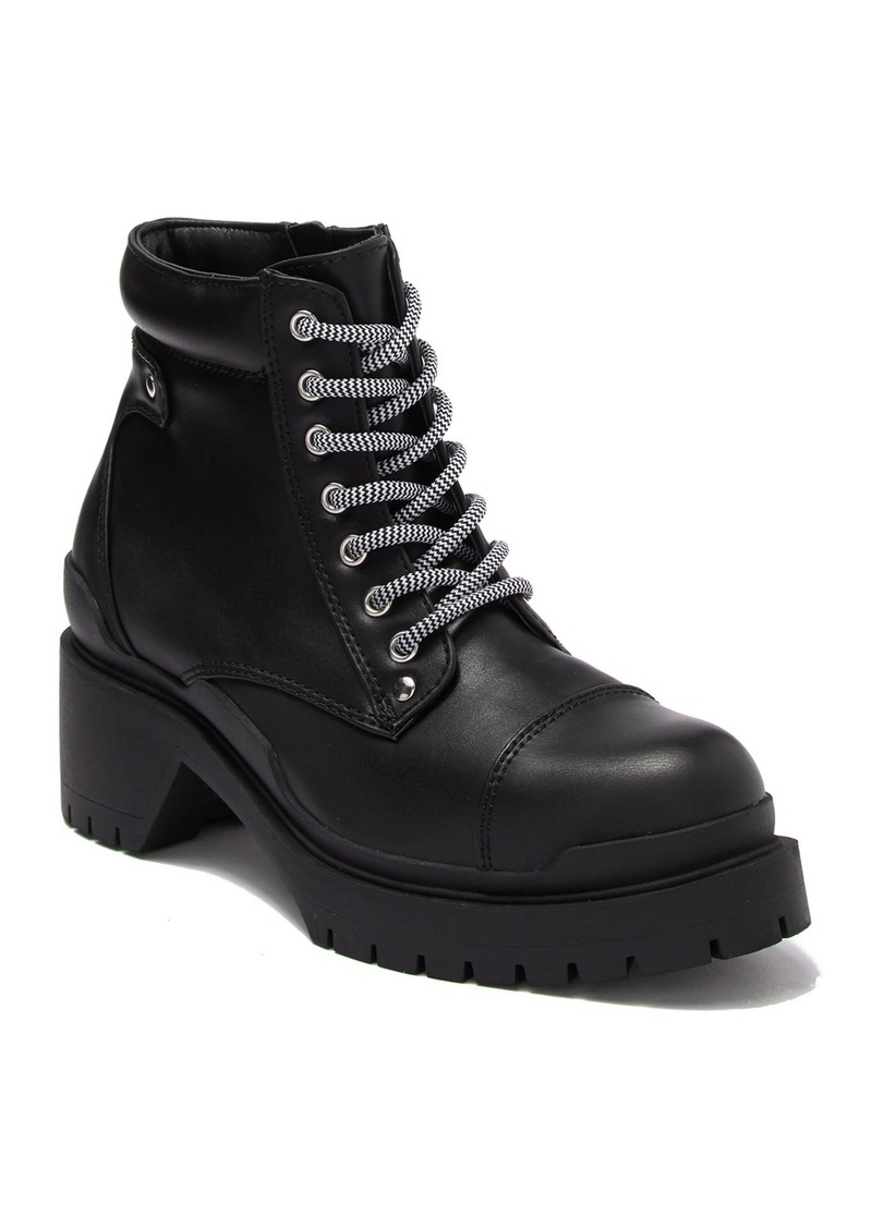 Catherine Malandrino Mendia Lace-Up Combat Boot