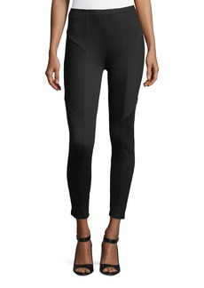 Catherine Malandrino Ottomon-Ribbed Leggings