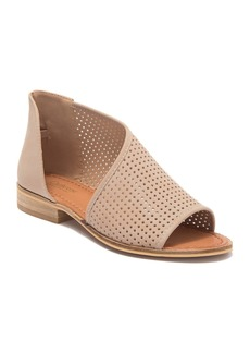 Catherine Malandrino Replay Perforated d'Orsay Angled Sandal