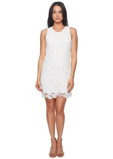 Catherine Malandrino Sherrell Scoop Neck Sleeveless Lace Dress