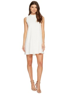 Catherine Malandrino Sleeveless Mock Neck Dress
