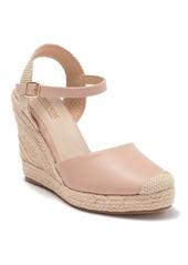 Catherine Malandrino Soldo Wedge Platform Ankle Strap Sandal