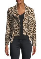 Catherine malandrino woven animal print moto jacket abv9a5941e0 a