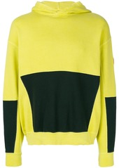 Cav Empt oversdye patch hoodie - Yellow & Orange
