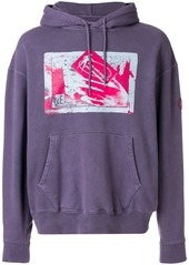 Cav Empt Own and Control hoodie - Pink & Purple