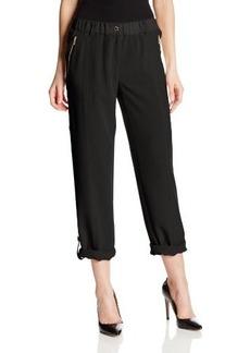 Calvin Klein Women's Tab-Cuff Pant