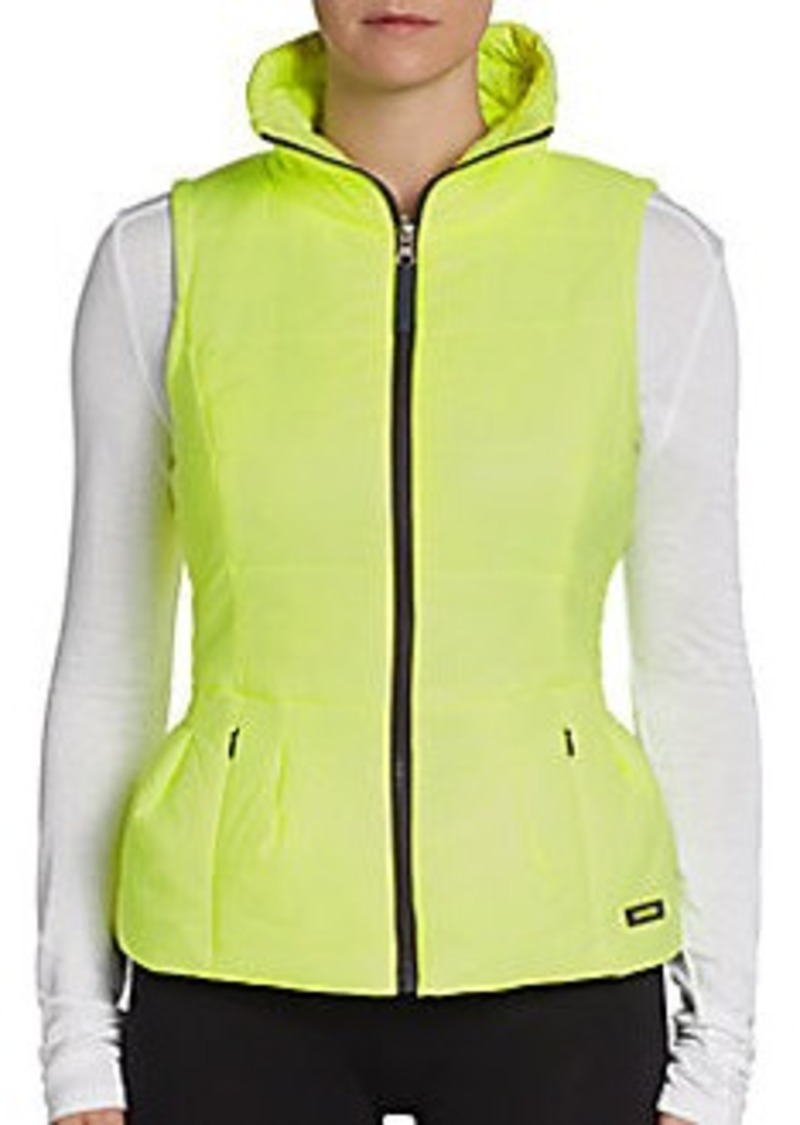 Calvin Klein Performance Peplum Active Puffer Vest