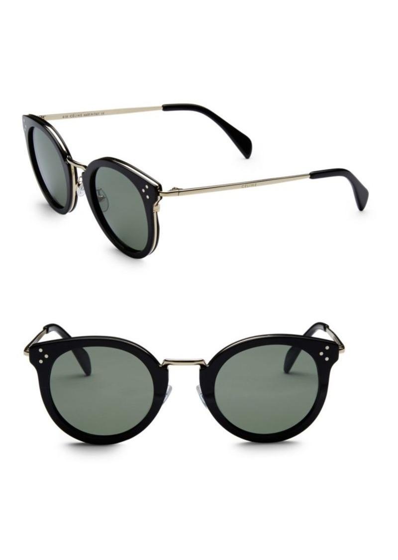 8c2c3238ca78 Celine 48MM Round Frame Sunglasses