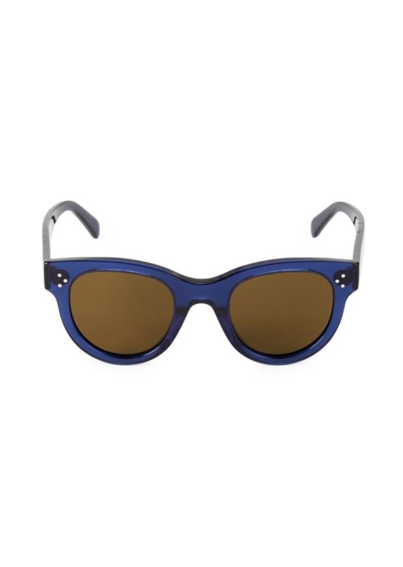 Celine 48MM Round Sunglasses
