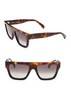 Celine 50MM Rectangular Sunglasses