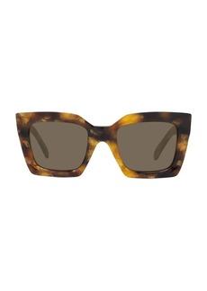 Celine 51MM Rectangular Sunglasses