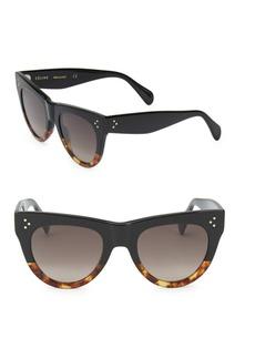 Celine 51MM Rounded Cat Eye Sunglasses