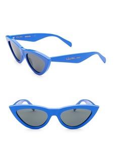 Celine 56MM Exaggerated Cat Eye Sunglasses