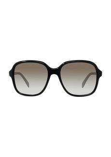 Celine 57MM Gradient Square Sunglasses
