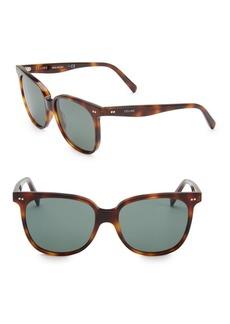Celine 57MM Round Frame Sunglasses