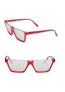 Celine 60MM Rectangular Sunglasses