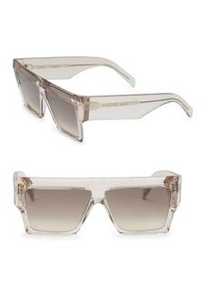 Celine 61MM Wraparound Sunglasses