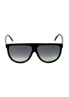 Celine 62MM Flat Top Pilot Sunglasses